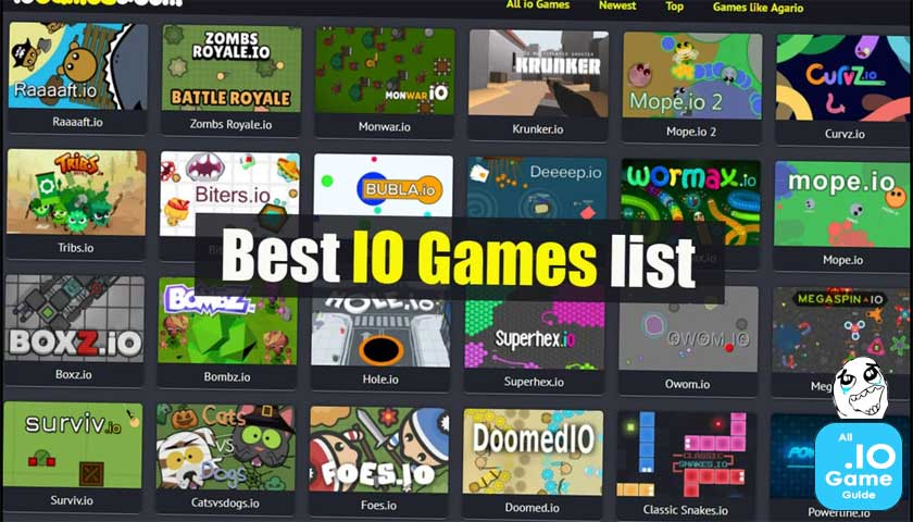 The best io game list that you can find » IO Game Guide